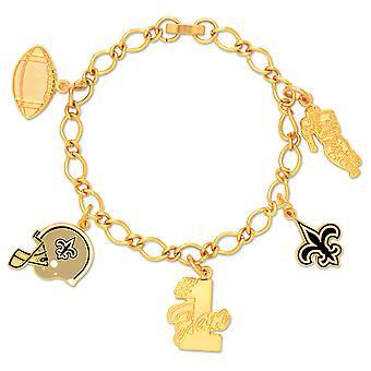 Wincraft dames van charmes armband - NFL New Orleans Saints