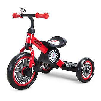 Licensed Mini Cooper Trike With Chunky 10 inch Wheels Red