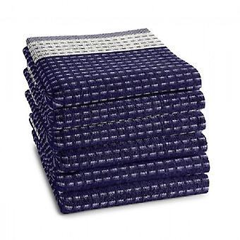 DADA kitchen towel Indigo 50x55cm 6 PCs