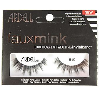 Ardell Faux Mink False Eyelashes Faux Mink 810 Black