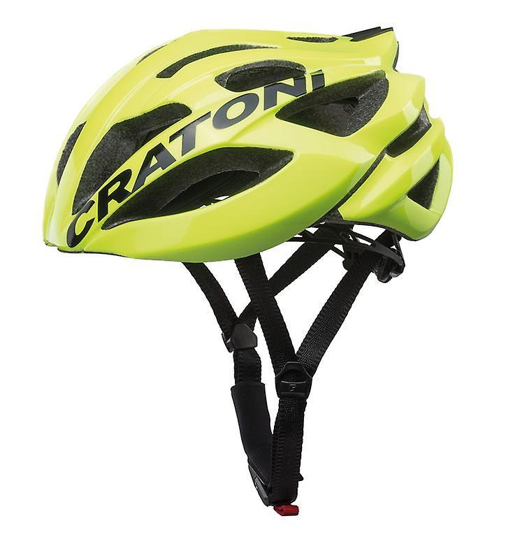 CRATONI C-Bolt Fahrradhelm    neonjaune noir glanz