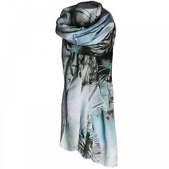 Fraas Women's Dandelion Design Long Scarf