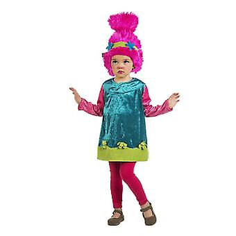 Baby Doll Poppyta child costume troll GNOME GNOME girl costume