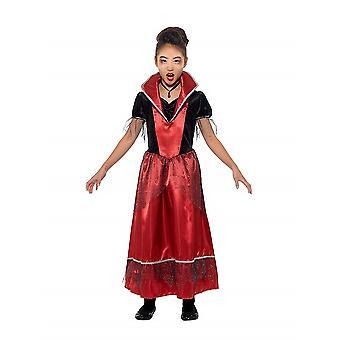 Vampire Princess child costume Halloween Dracula Vampire Princess costume