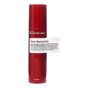 Recipe For Men Clear Shaving Gel 100ml