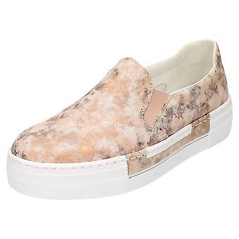 Rieker Slip On Flatform Shoes Pumps N4966-32