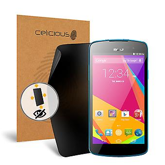 Celicious Privacy Plus 4-Way Anti-Spy Filter Screen Protector Film Compatible with BLU Studio X Plus
