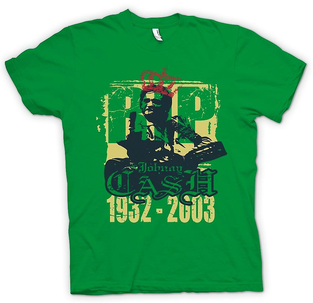 Mens T-shirt - Johhny Cash 1932 - 2003 - Music Legend