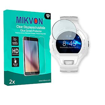 Alcatel OneTouch Go Watch Screen Protector - Mikvon Clear (Retail Package with accessories)