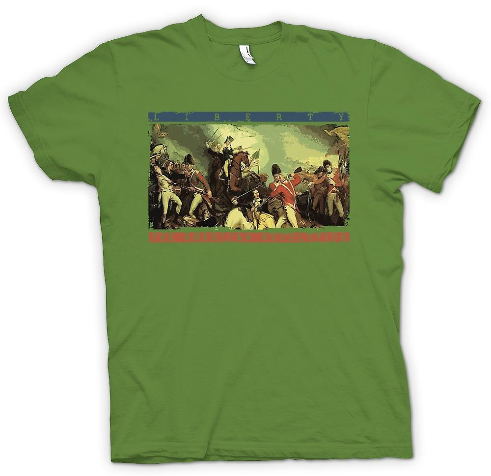 Mens T-shirt - Liberty - The American Revolution
