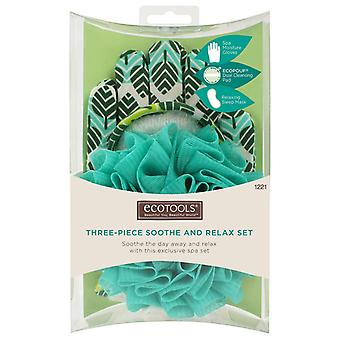 Eco Tools Three-Piece Soothe And Relax Set