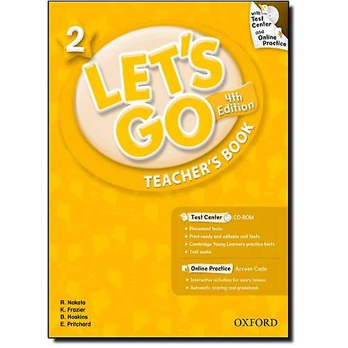 Let&s Go 2 Teacher&s Book with Test Center CD-ROM