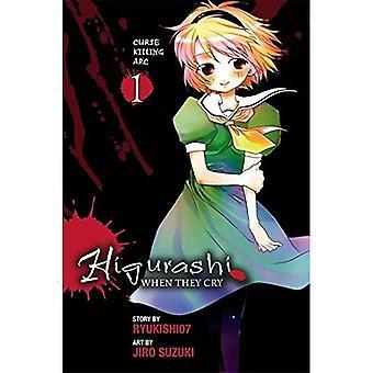 Higurashi Quando piangono: Maledizione uccisione Arc v. 1