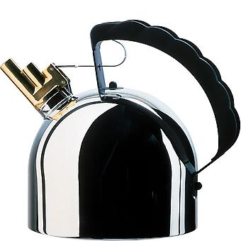Alessi Kettle with steel floor (induction cooker suitable) Richard Sapper - 9091fm
