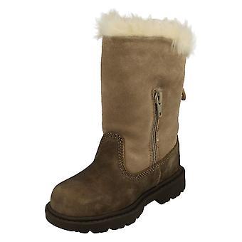 Girls Caterpillar Boots Bruiser Sc Zip P201668