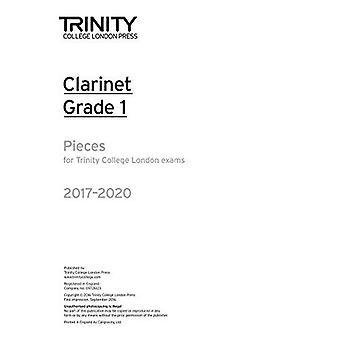 Morceaux de clarinette examen de Grade 1 2017-2020 (pièce uniquement)