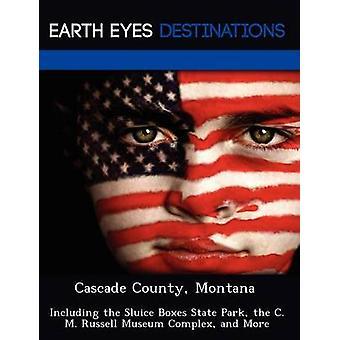 Cascada de Montana del condado incluyendo el parque de estado de cajas de la esclusa del complejo Museo de Russell C. M. y más por Martin y Martha