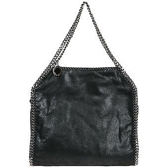 Stella Mccartney Falabella Black Faux Leather Handbag