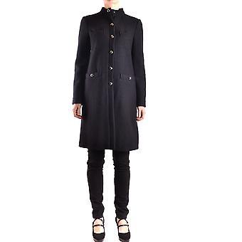 Armani Jeans Black Wool Coat