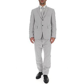 بدلة رمادية القطن توم براون