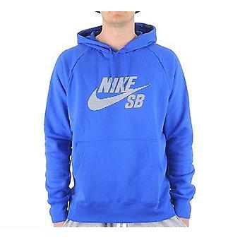 Nike SB ikon stribe mænds Skate Boarding hættetrøje - 895205-480