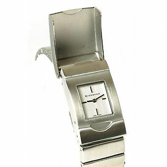 GIORDANO 2041-5 Ladies Silver Tone Bracelet Strap Watch