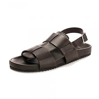Grenson Grenson Wiley Brown Handpainted Sandal Fbbr F