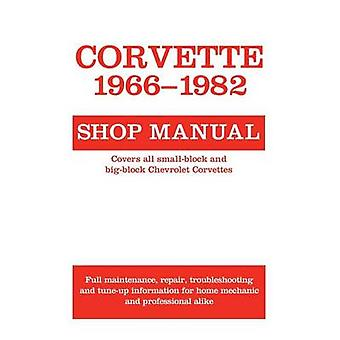 Corvette - 1966-1982 Shop Manual by Motorbooks - 9780879382360 Book