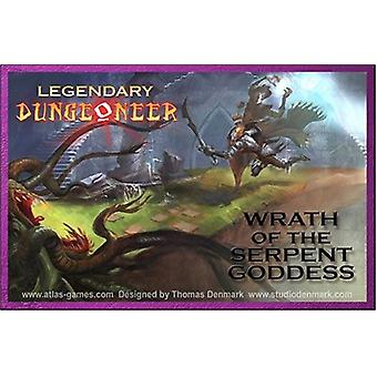 Legendary Dungeoneer Wrath of the Serpent Goddess Board Game