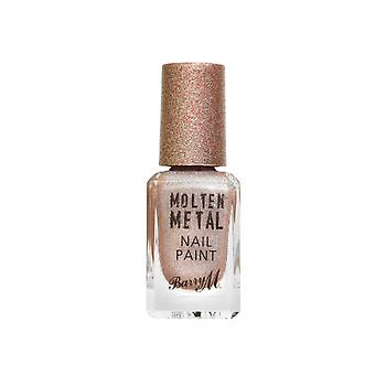 Barry M Molten Metal Nail Paint - Holographic Moon