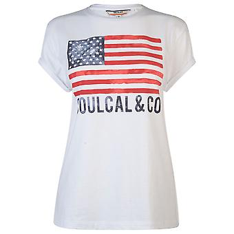 SoulCal Womens Fashion Tshirt T-Shirt Tee Top Short Sleeve Crew Neck Ladies SoulCal Womens Fashion T-Shirt T-Shirt Tee Top Short Sleeve Crew Neck Ladies SoulCal Womens Fashion T-Shirt T-Shirt Tee Top Short Sleeve Crew Neck Ladies
