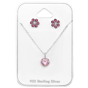 Blume - 925 Sterling Silber Sets - W33933X