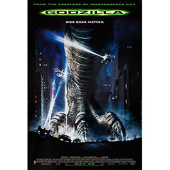 Godzilla (Régulier) (1998) Original Cinema Poster