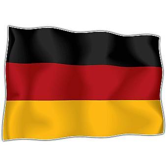 Lot De 10 X Autocollant Sticker Drapeau Allemagne Allemand  Moto Voiture
