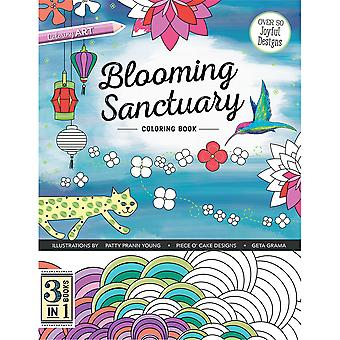 C & T Publishing-blühenden Heiligtum Coloring Book CT-54387