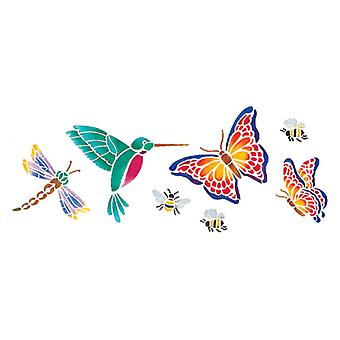 Stencil Magic Decorative Stencils Butterflies & More 5 1 4