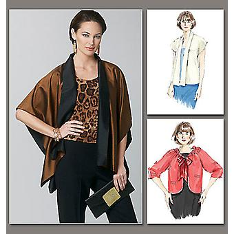 Misses' Jacket  All Sizes In One Envelope Pattern V1243  Osz