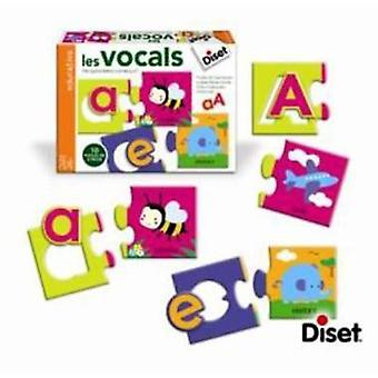 Diset The Vowels (Kids , Toys , Education , Letters And Languages)