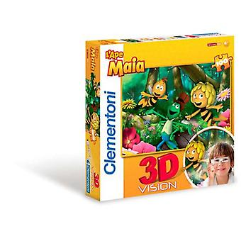 Clementoni 104 3D Puzzle Bee Maya (Kids , Toys , Table Games , Puzzles)
