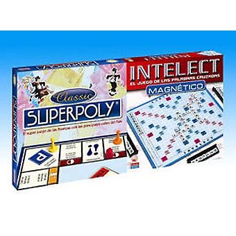 Falomir Superpoly And Magnetic Intelect 10 (Kids , Toys , Table Games , Strategy)