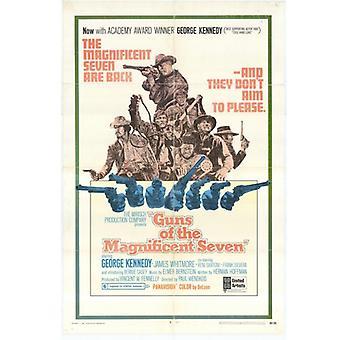 Pistole dei magnifici sette film Poster (11x17)