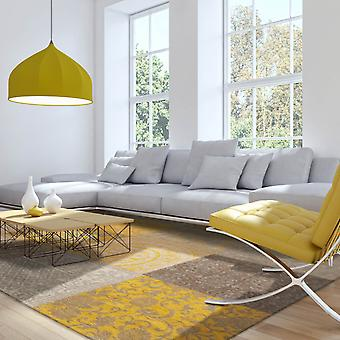 Louis De Poortere Rugs Vintage Multi 8084 Yellow