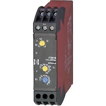 Hiquel ITM 16 Time Delay Relay, Timer, 1 changeover 24 V DC/AC - 115 - 230 Vac