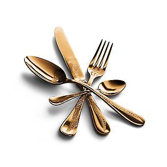 Mepra Caccia Oro 5 pcs flatware set