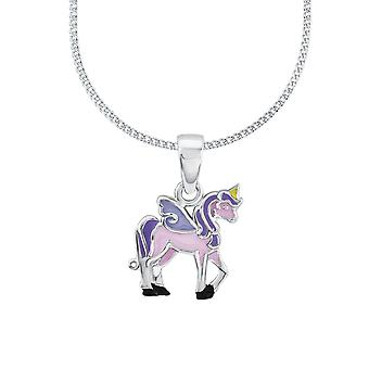 Princess Lillifee child kids necklace silver unicorn Rosie 2013154