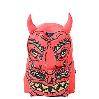 Iron Fist Soul Stealer Backpack Rucksack Red Devil Horns