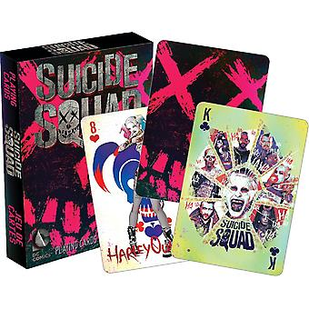 DC Comics Suicide Squad set speelkaarten (nm)