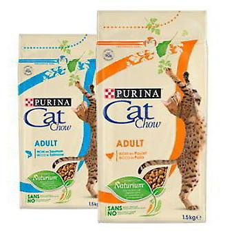 Cat Chow Adult Salmon and Tuna (Cats , Cat Food , Dry Food)