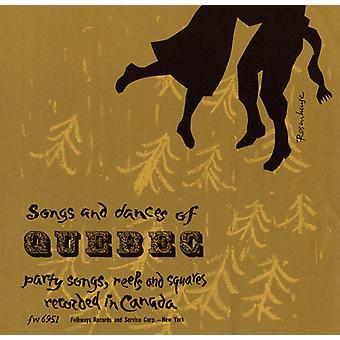 Canciones y danzas de Quebec - canciones y danzas de la importación de los E.e.u.u. de Quebec [CD]