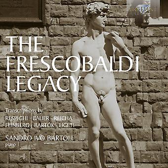 Respighi/Reicha/Bauer/Feinberg/Ligeti/Bartok - The Frescobaldi Legacy [CD] USA import
